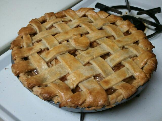 Last year's maiden journey into the land of pie baking